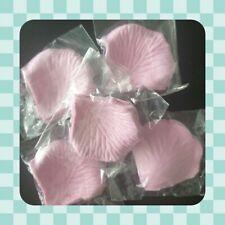 500 BABY PINK Faux Silk Rose Petals - Wedding - Baby Shower - Confetti