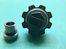 TAG HEUER BLACK CROWN WITH CASE TUBE   #62B FITS WAC1110-0  8.0X5.0MM