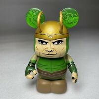 "Disney Vinylmation Marvel Series 3 Loki Collectable Green 3"" Figure VGC"
