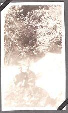 1919-21 CANTARA LOOP DUNSMUIR CALIFORNIA SACRAMENTO RIVER 2 GUYS POSE ROCK PHOTO