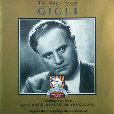 CD BENIAMINO GIGLI - the magnificent