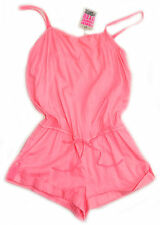 "NEW ""Victoria's Secret"" Sexy Pull Out Drawstring Ties Romper / Summer Jumpsuit L"