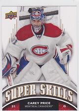 2008 08-09 Upper Deck Super Skills #SS12 Carey Price SP Short Print