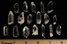 Arkansas Crystal Quartz - Small Points from Avatar Crystal Mine - 10 Pieces