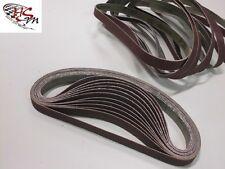 120 Gewebe-Schleifbänder 13 x 457 mm für Black & Decker Powerfeile Schleifband
