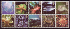 GREAT BRITAIN 2007 SEALIFE BLOCK OF 10 UNMOUNTED MINT, MNH
