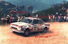 Vaclav blahna & Pavel Schovanek Skoda 130 RS Acrópolis Rally 1981 fotografía 1