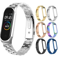 For Xiaomi Mi Band 4/3 Wrist Bracelet Stainless Steel Smart Watch Band Strap NEW
