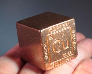 "1""  NATIVE COPPER Cube Keweenaw Peninsula Michigan Natural"