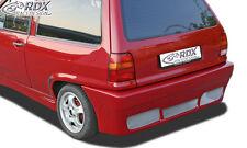 RDX Stoßstange VW Polo 86c 2f Steilheck Heck Schürze Hinten Spoiler