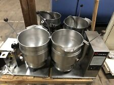 Groen Tilting Steam (3) Jacketed Kettle Tdb 7-20 Quart for Commercial Cooking