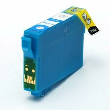 Cyan Compatible (non-OEM) Printer Ink Cartridge to replace T1282