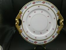 Limoges D&C France Hand Painted cake plate