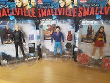 Smallville Series 1 DC Direct Action Figure Set Clark Lana & Lex Lot of 3