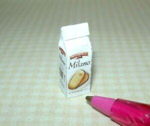 Miniature Brand Chocolate Filled Cookies Bag: DOLLHOUSE Miniatures  1:12