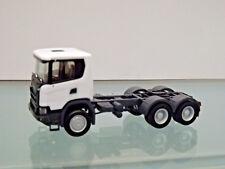 Herpa 309745 - 1:87 - Scania CG 17 6x6 Trattore,Bianco - Nuovo in Scatola