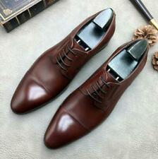 Wedding Mens Dress Formal Business Leather Shoes Pointy Toe Bridegroom Lace up