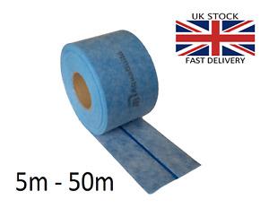 5m - 50m AQUA BUILD IV Waterproof Tanking Tape with elastic flexible strip