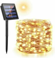 Maxsure Solar Fairy Lights Outdoor, 72ft/ 22m 200 LED String