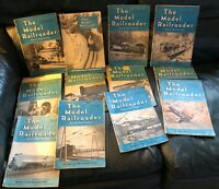Vintage Lot of 12  The Model Railroader Magazines  January through December 1939