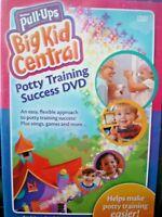 Huggies Pull-ups Big Kid Central Potty Training Success DVD