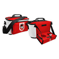 NRL Drink Cooler Bag With Tray - St George Illawarra Dragons - Team Logo - BNWT