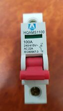 1 Pole Main Switch 100A Switchboard Electrical Supplies