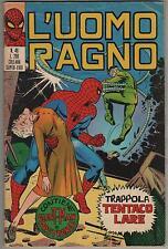 L' UOMO RAGNO corno N.49 TRAPPOLA TENTACOLARE 1972 giant-man dottor dr. strange