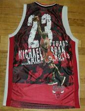 Vtg Majestic Chicago Bulls Michael Jordan Basketball Jersey 54 Embroidered Rare