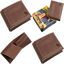 Men's Passcase Wallet BROWN One Size Mens Shoes
