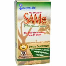 SAM-e ( S-Adenosyl-L-Methionine ) 200mg 60 Tablets | FIBROMYALGIA SUPPORT