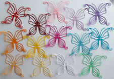 14 colour large butterfly paper die cuts card topper spring animal bug