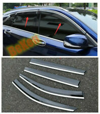 Fits 2016-2020 Infiniti QX60 Window Visor Vent Shades Sun Rain Guard 4PCS