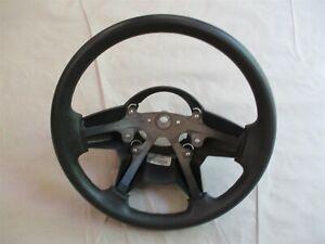 Steering Wheel Dark Gray Vinyl w/o radio controls 2006 Jeep Commander XK