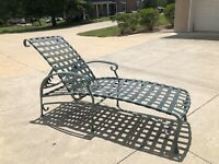 Vintage Brown Jordan Patio/Outdoor/Pool Chaise Lounge