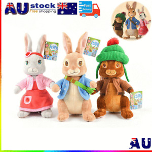 Peter Rabbit Characters Movie Benjamin Bunny Peter or Lily Soft Plush Toy Gifts
