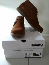 Chukka Boots Whiskey sz. 10.5 w Sonoma Goods For Life Byron Suede