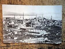 RPPC Constantinople Panoramique de Stamboul 1910s