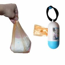 Cute Plastic One-time Diapers Rubbish Bags Baby Nappy Bag Abandoned Disposable