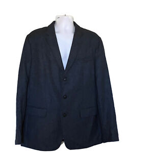 NWT BANANA REPUBLIC Size 46L Slim Fit Heritage Collection Wool Sport Coat Blazer