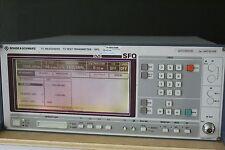 R&S SFQ -B5-B6-B11-B12-B14 TV Test Transmitter 2072.5501.20, 0.3 MHz - 3.3 GHz