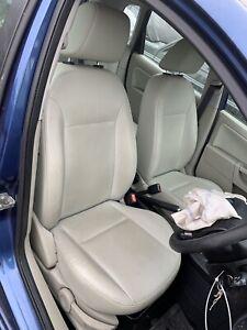 Ford Fiesta Mk6 Cream Leather Interior Seats 5 Door 2004 2005 2006 2007 2008