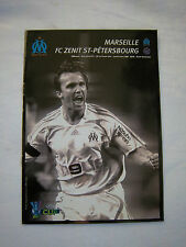 ORIG. PRG UEFA CUP 2007/08 Olympique Marseille-ZENIT St. Petersburg 1/8 F