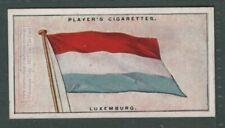 The Flag Of Liuxemberg 1920s Ad Trade Card