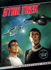 STAR TREK THE ADVENTURE GAME SEALED NEW ST TOS West End Games Boxed Set Shrink