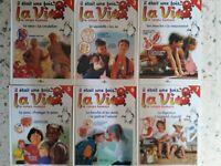 """Lot de 23 livres """"Il était une fois la vie...."""" editions Altaya"""