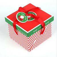 Xmas Christmas Gift Boxes Christmas Eve Apple Box Candy Boxes Party Boxes DIY