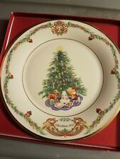 Lenox Christmas Trees Around The World Plate 2007 Norway Great Condition