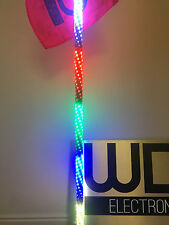 4' TWISTED ULTRA WRAPPED EXTREME DREAM LED LIGHT WHIP ATV UTV RZR CAN AM