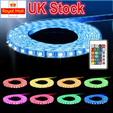 5M 3528 LED MOOD LIGHTING IDEAS TV BACK LIGHTS COLOR CHANGING STRIP RIBBON UK